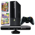 Xbox 360 4GB SVB + 2 x hra (Kinect Sports Ultimate + Kinect Adventures)